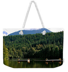 Tranquil Alice Lake Weekender Tote Bag