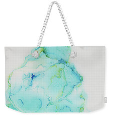 Tranquil And Soft Sky Weekender Tote Bag