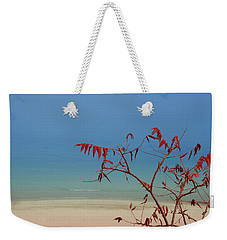 Weekender Tote Bag featuring the photograph Tranquil Blue by Arthur Fix