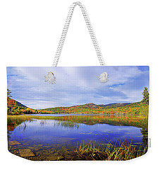 Weekender Tote Bag featuring the photograph Tranquil by Chad Dutson