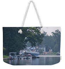 Tranquil River Weekender Tote Bag