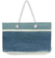 Tranquil Stripes- Art By Linda Woods Weekender Tote Bag