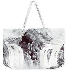 Tranquil Thunder Weekender Tote Bag