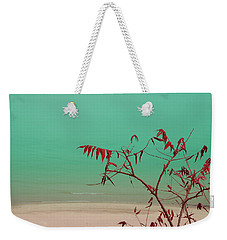 Weekender Tote Bag featuring the photograph Tranquil View by Arthur Fix