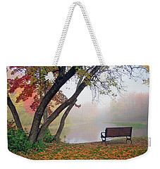 Tranquil View Weekender Tote Bag by Betsy Zimmerli