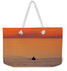 Tranquililty Weekender Tote Bag by Linda Hollis