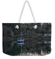Weekender Tote Bag featuring the photograph Tranquility 9 by Timothy Latta