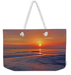 Weekender Tote Bag featuring the photograph Tranquility - Florida Sunset by HH Photography of Florida