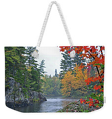 Weekender Tote Bag featuring the photograph Autumn Tranquility by Glenn Gordon