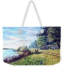 Tranquility Weekender Tote Bag by Heidi Kriel