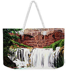 Tranquility In The Canyon Weekender Tote Bag