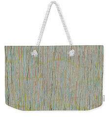 Weekender Tote Bag featuring the painting Tranquility by Jacqueline Athmann