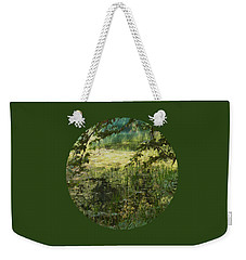 Tranquility Weekender Tote Bag by Mary Wolf