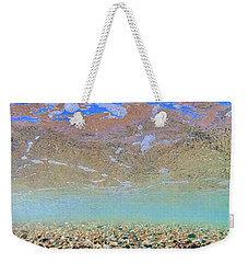 Crystal Clear Weekender Tote Bag by Nadia Sanowar