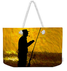 Weekender Tote Bag featuring the photograph Tranquility by Paul Wear