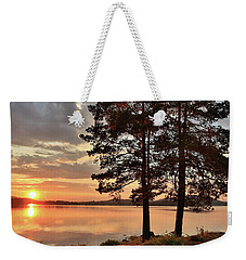 Weekender Tote Bag featuring the photograph Tranquility by Rose-Marie Karlsen