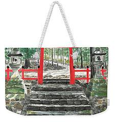 Tranquility Torii Weekender Tote Bag