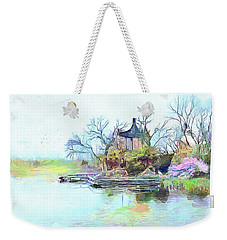 Tranquility Weekender Tote Bag by Wayne Pascall