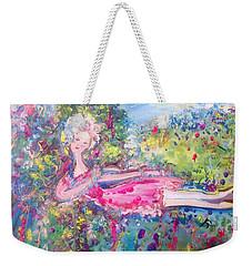 Tranquilty  Weekender Tote Bag by Judith Desrosiers