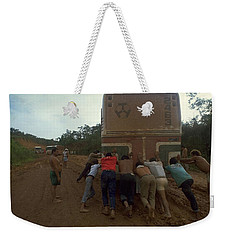 Weekender Tote Bag featuring the photograph Trans Amazonian Highway, Brazil by Travel Pics