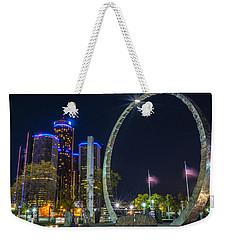 Transcend Detroit  Weekender Tote Bag