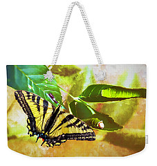 Transformation  Weekender Tote Bag by Diane Schuster