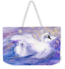 Transformation Weekender Tote Bag by Gail Kirtz