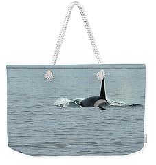 Transient Killer Whale Weekender Tote Bag