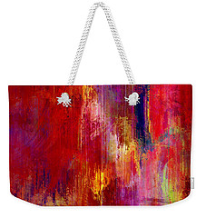Transition - Abstract Art Weekender Tote Bag by Jaison Cianelli