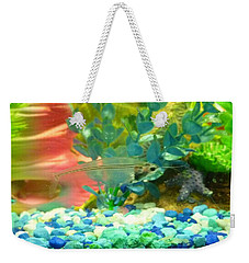 Transparent Catfish Weekender Tote Bag