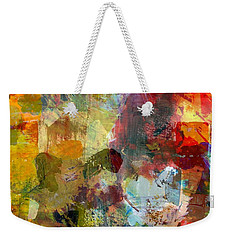 Transparent Layers One Weekender Tote Bag by Michelle Calkins