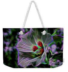 Transparent Nature Weekender Tote Bag