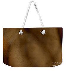Transparent Words Weekender Tote Bag