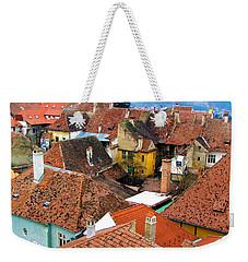 Transylvania Rooftops Weekender Tote Bag