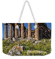 Trapani, Sicily Weekender Tote Bag by Shirley Mangini