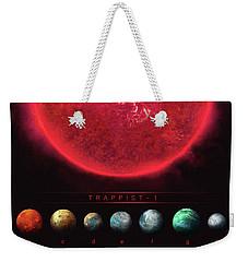 Trappist-1 Weekender Tote Bag