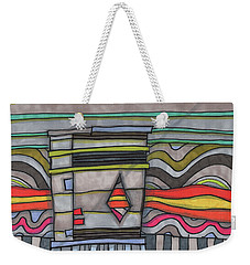 Trash Can In The Alley Weekender Tote Bag