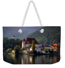Traunkirchen - Austria Weekender Tote Bag by Ellen Heaverlo