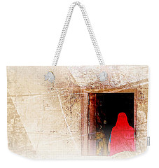 Travel Exotic Women Portrait Mehrangarh Fort India Rajasthan 1a Weekender Tote Bag