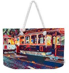 Travel San Fran Style Weekender Tote Bag