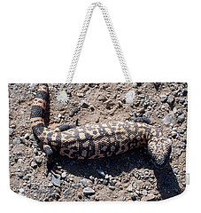 Traveler The Gila Monster Weekender Tote Bag