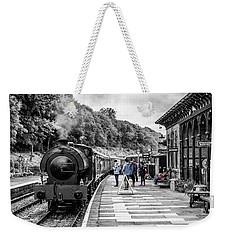 Travellers In Time Weekender Tote Bag
