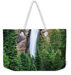 Weekender Tote Bag featuring the photograph Treasure Falls by David Chandler