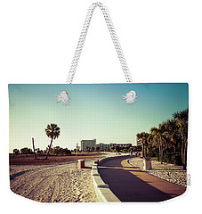 Weekender Tote Bag featuring the photograph Treasure Island Beach Trail by Joel Witmeyer