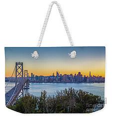 Treasure Island Sunset Weekender Tote Bag by JR Photography