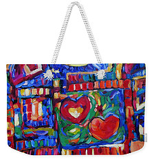 Caribbean Treasure Map 6 Weekender Tote Bag