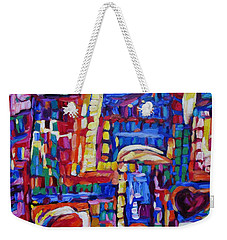 Caribbean Treasure Map 4 Weekender Tote Bag