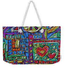 Caribbean Treasure Map 3 Weekender Tote Bag