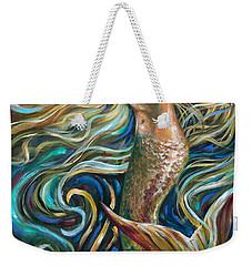 Treasure Mermaid Weekender Tote Bag