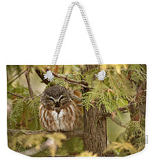 Weekender Tote Bag featuring the photograph Treasures Of The Forest by Everet Regal